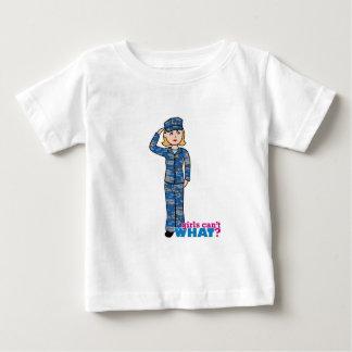 Navy Camo Light Blonde Baby T-Shirt