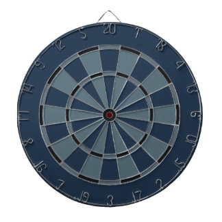 Navy Camouflage Colors Dart Board