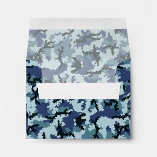 Navy camouflage envelope