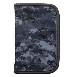 Navy Camouflage Folio Planner