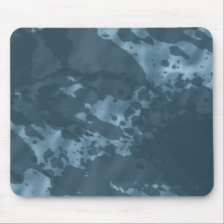 Navy camouflage mouse pad