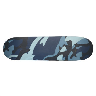 Navy Camouflage Skateboard Deck