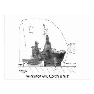 Navy Cartoon 9228 Postcard