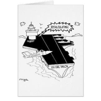 Navy Cartoon 9507 Card