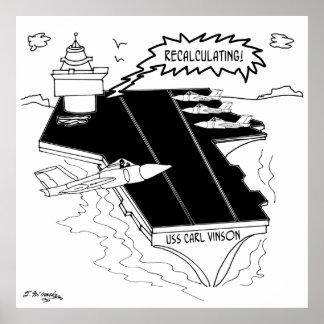 Navy Cartoon 9507 Poster