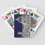 Navy cathedral Florence Card Decks