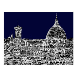 Navy cathedral Florence Postcard