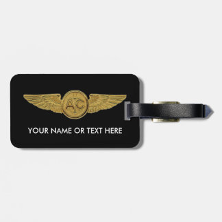 Navy Chief Petty Officer Air Crew Luggage Tag