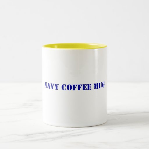 Navy Coffee Mug
