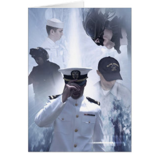Navy Commemorative Greeting & Note Cards