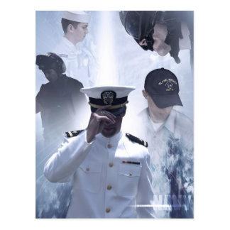 Navy Commemorative Postcard