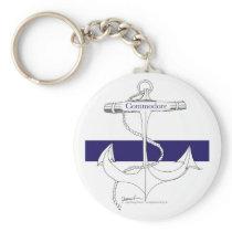 navy commodore, tony fernandes keychain