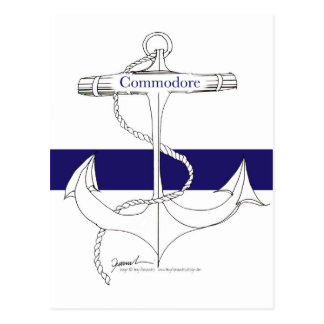 navy commodore, tony fernandes postcard