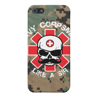 Navy Corpsman - Like A Sir iPhone SE/5/5s Cover