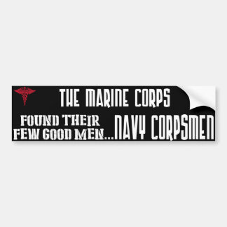 Navy Corpsmen Bumper Sticker