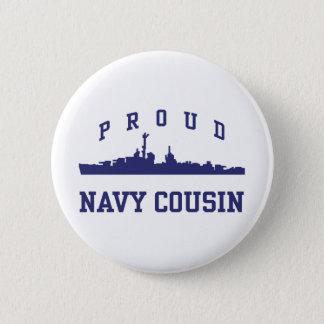 Navy Cousin Button