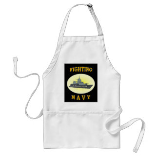 NAVY CROSSING LINE APRONS
