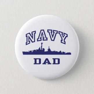 Navy Dad Button