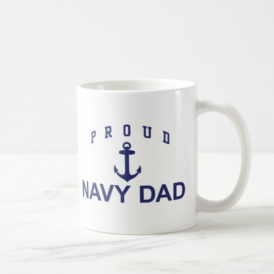 Navy Dad Coffee Mug