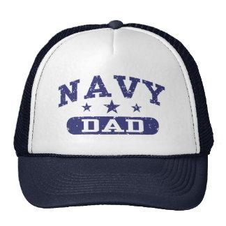 Navy Dad Hats