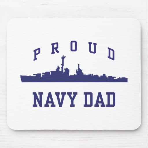 Navy Dad Mouse Pad