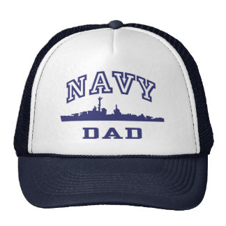 Navy Dad Trucker Hat