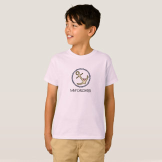 Navy Daughter Youth Tee