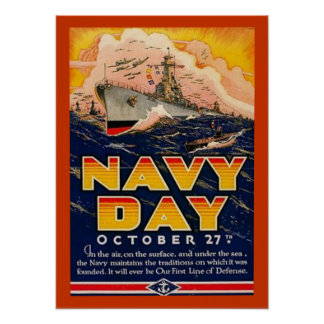Navy Day Poster