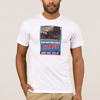 Navy Day Poster T-Shirt