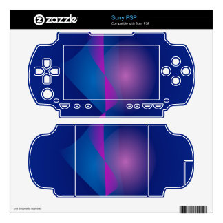 Navy Deep Sea Decal For The Sony PSP