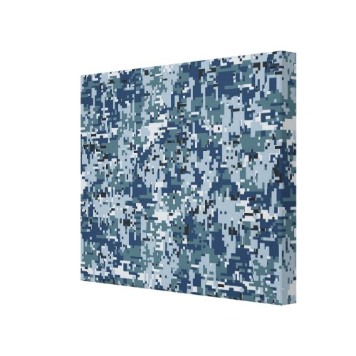 Navy Digital Camo Camouflage Decor