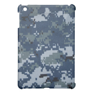 Navy Digital Camouflage iPad Case