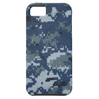 Navy Digital Camouflage iPhone 5 Case