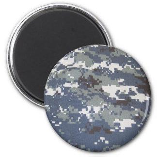 Navy Digital Camouflage Magnet