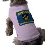 Navy Dog Dog Tee
