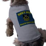 Navy Dog Pet Shirt