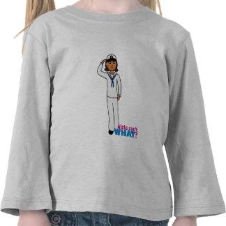 Navy Dress Whites Dark Tee Shirt