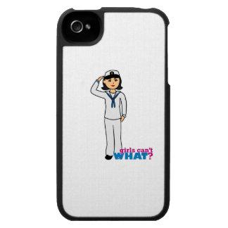 Navy Dress Whites Medium iPhone 4 Cases