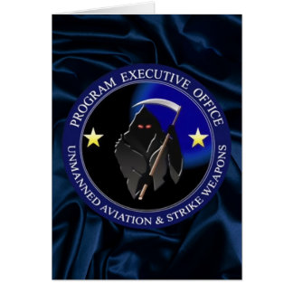 Navy Drone Logo Grim Reaper Cards