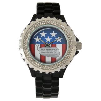 Navy Emblem Seal Insignia Badge Logo Design #1 Wrist Watches