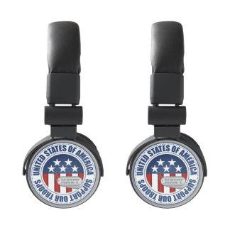 Navy Emblem Seal Insignia Badge Logo Design #3 Headphones