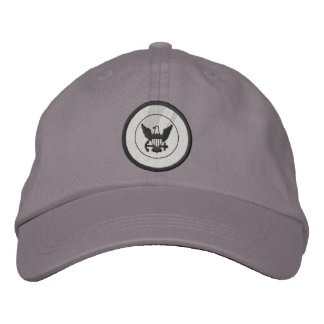 Navy Embroidered Hats