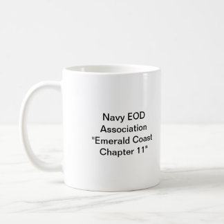Navy EOD Association Chapter 11 Coffee Mug