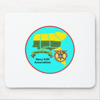 Navy EOD Association Emerald Coast Chapter 11 Mouse Pad
