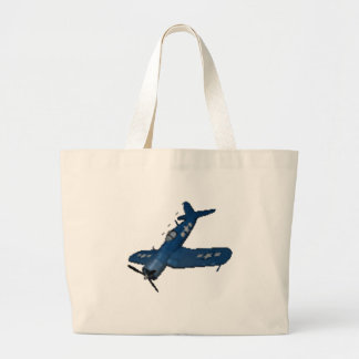 NAVY f4u corsair diving Tote Bags