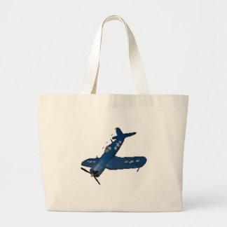 NAVY f4u corsair diving Canvas Bag
