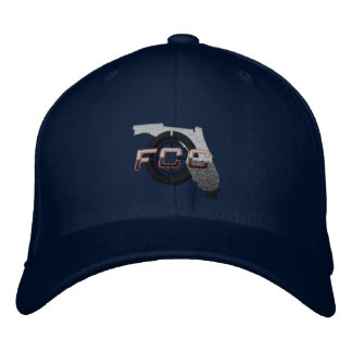 Navy FCC Embroidered Cap