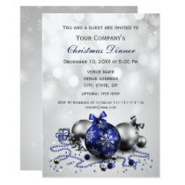 navy Festive Corporate Christmas party Invite