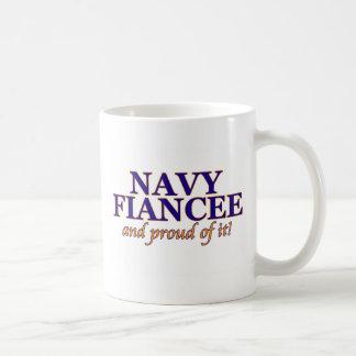 Navy Fiancee and Proud of It Coffee Mug
