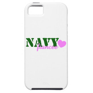 Navy Fiancee Green Pink Heart iPhone SE/5/5s Case